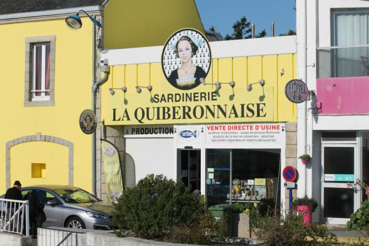 Киберон (Quiberon). Магазин при фабрике по производству консервированных сардин