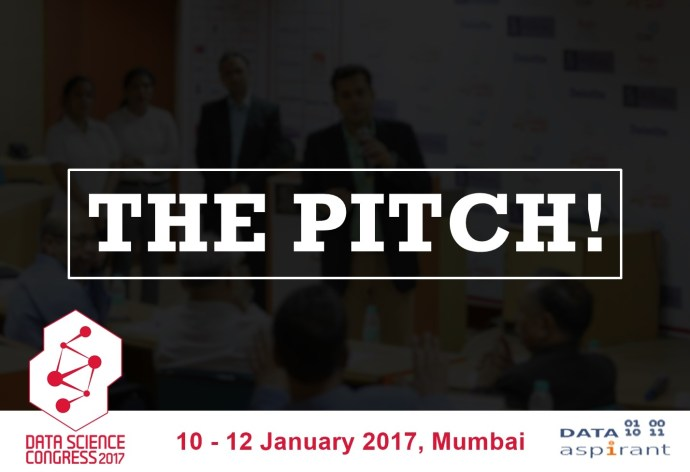 Pitch your startup at Data Science Congress 2017