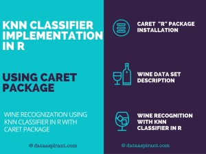 knn classifier implementation with r caret package