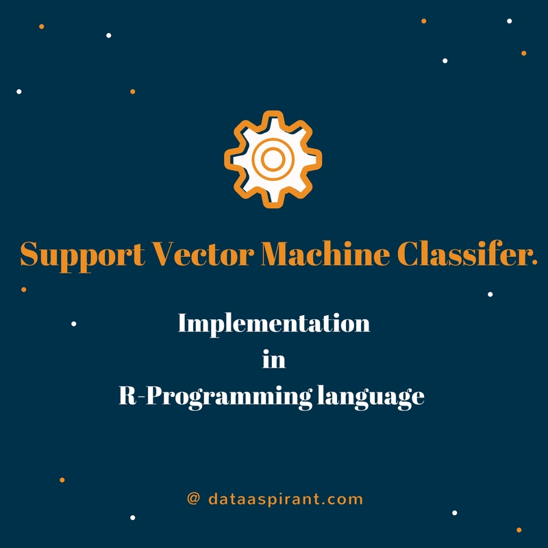 Support Vector Machine Classifier Implementation in R with caret package