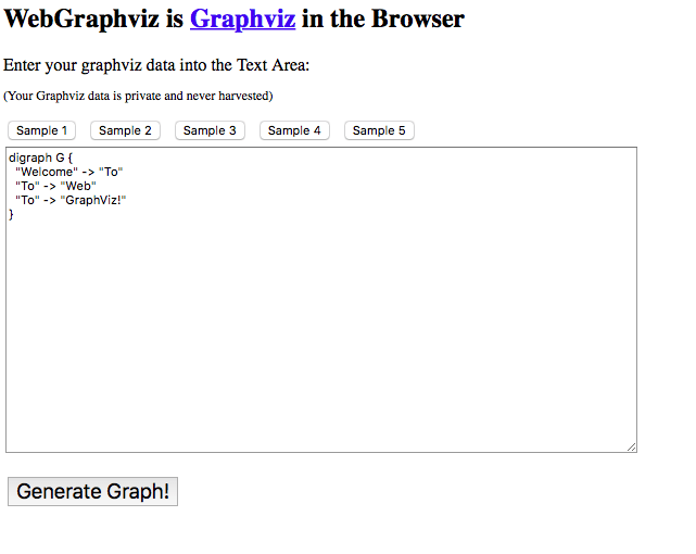 graphviz web portal