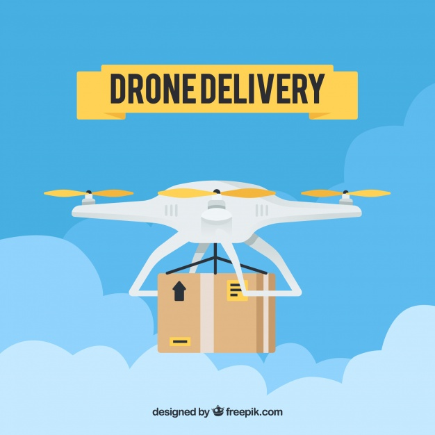 drone delivery a Q learning application
