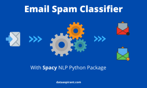 Email classifier with space python