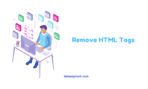 Removing html tags