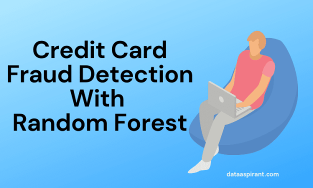 Credit card fraud detection with random forest