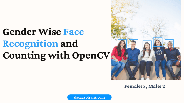 Gender Wise Face Recognition with OpenCV