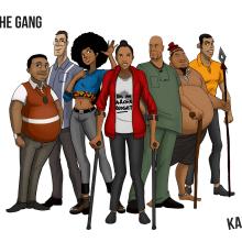 Karmzah Characters
