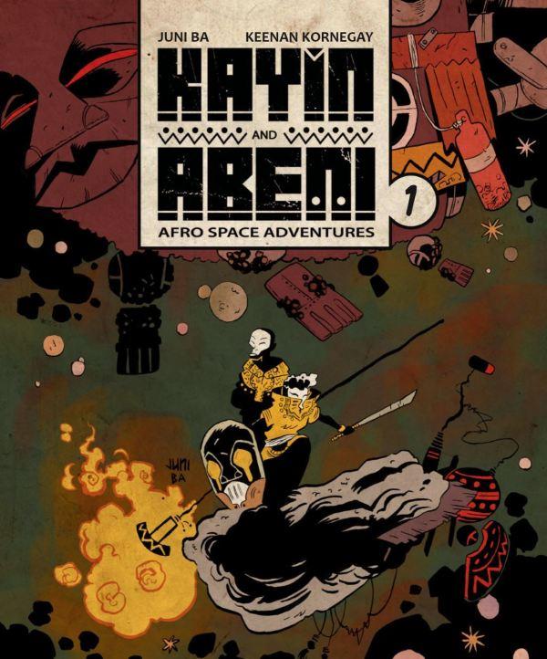 Kayin and Abeni cover