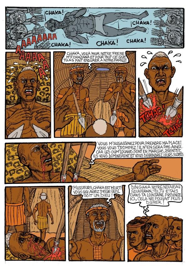 Chaka by Koffi Roger N'Guessan Afropolitan Comics