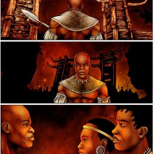 Shaka Rising Legend of the Warrior Prince by Luke Molver Afropolitan Comics