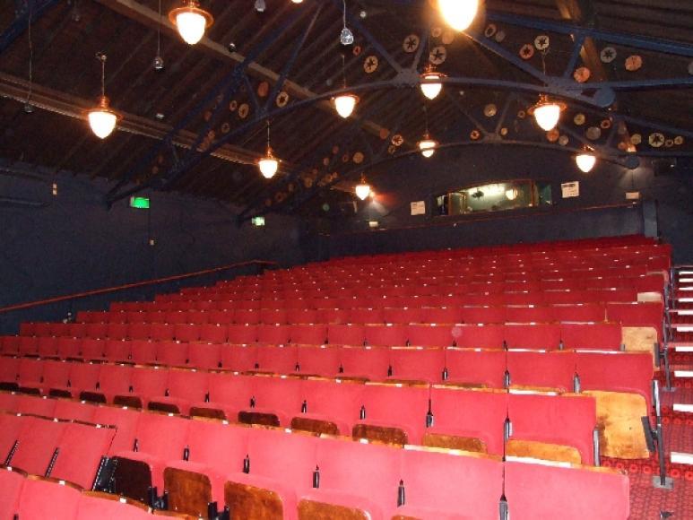 Auditorium seating at the Polka Theatre October 2007  Theatres Trust