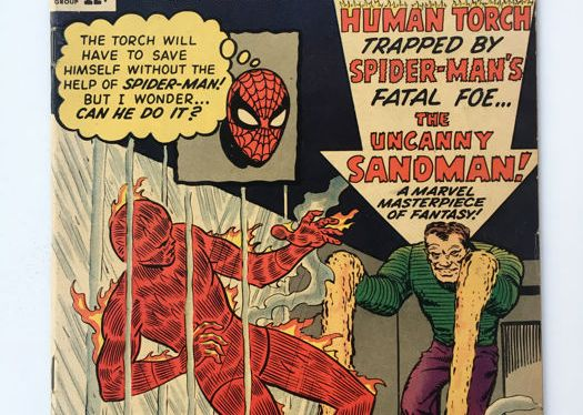 Super Feat Of The Day: The Human Torch