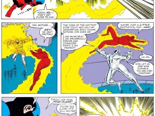 Super Power: The Human Torch's Nova Flame