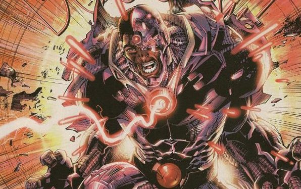 Feat: Cyborg, 'Justice League #6'