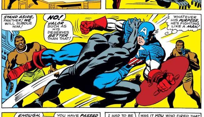 Battles Of The Week: Black Panther vs. Captain America
