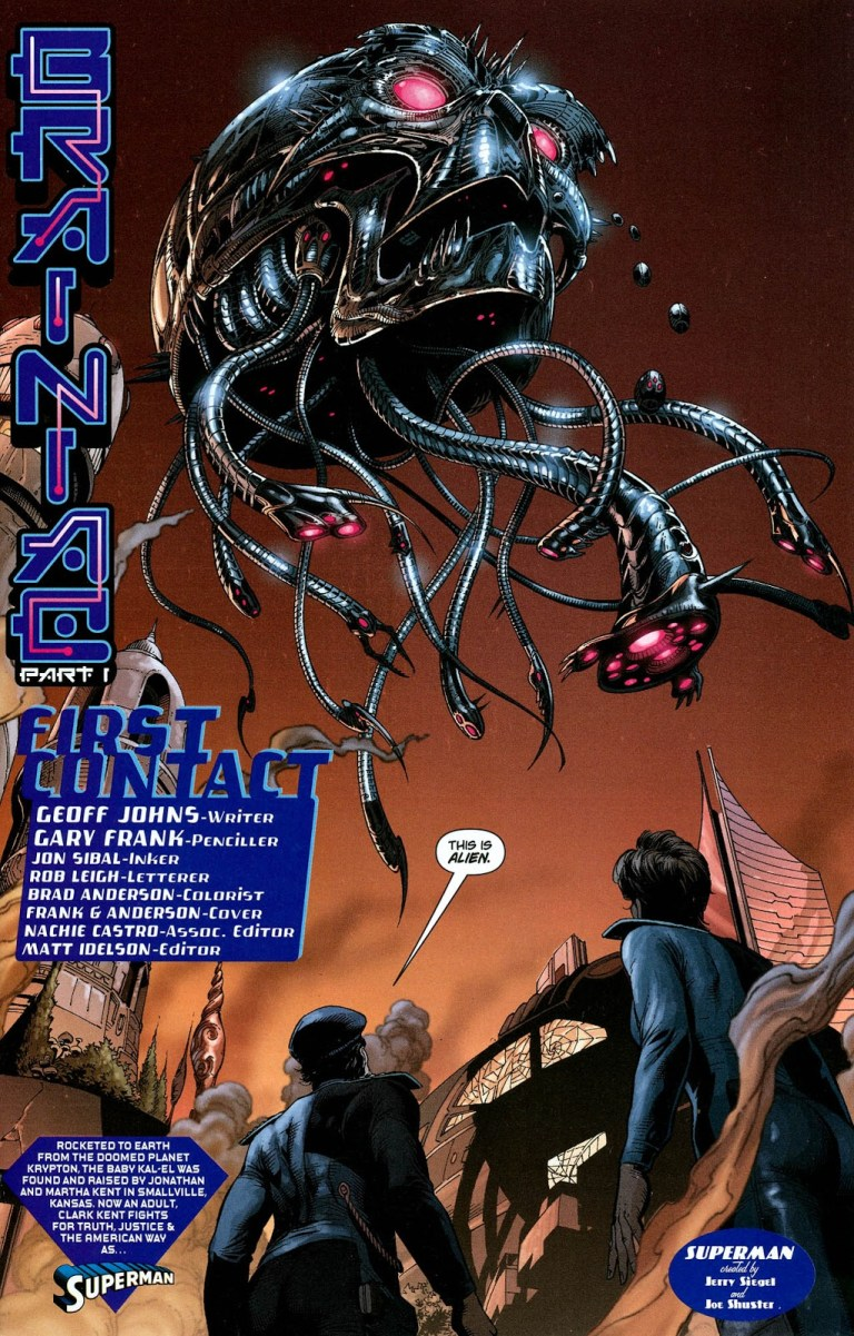 In 'Action Comics' (2008) #866, Brainiac invades Kandor on Krypton 35 years ago.