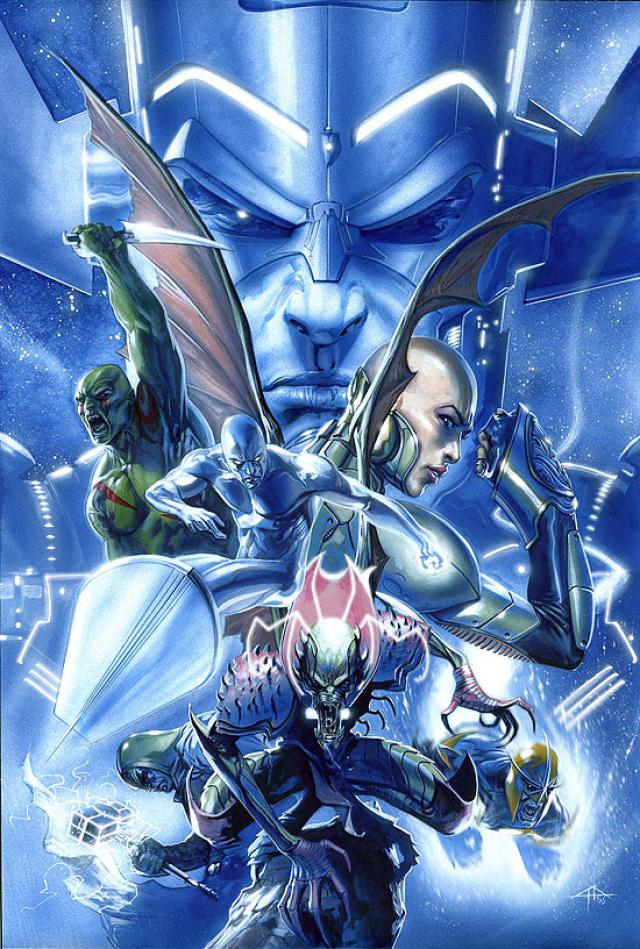 In 'Annihilation' (2006) #1, Annihilus invades the multiverse.