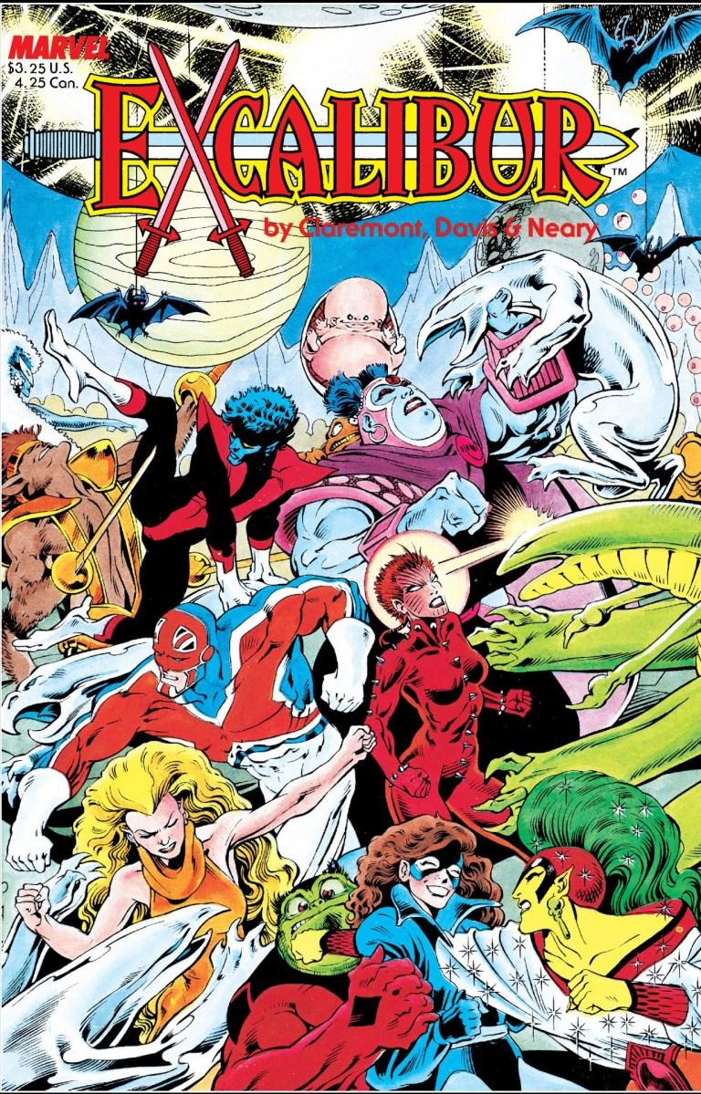 In 'Excalibur Special Edition' (1988) #1, after defeating Technet and the Warwolves, Captain Britain, Shadowcat, Nightcrawler, Rachel Summers and Meggan Puceanu form Excalibur.