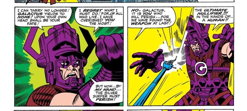 Battles Of The Week: The Fantastic Four vs Galactus