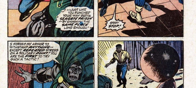 Feat: Luke Cage, 'Hero For Hire' #9