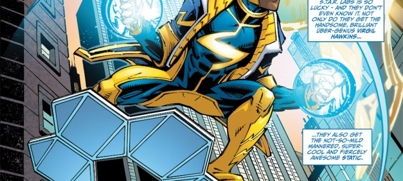 DC Day: Static, Your Neighborhood Black Superhero's Crackling First Appearance In The New 52