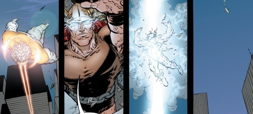 Image Day: In The Battle For Jenny Quantum, The Commander Beats Down And Rapes Apollo