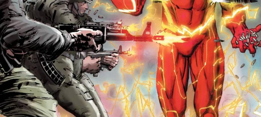 Feat: Flash, 'Captain Atom' #3