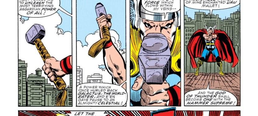 Super Power: Thor's God Blast Unleashes The Hero's Godly Power