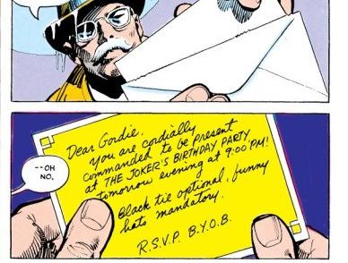 DC Day: Joker Plans His Birthday Celebration By Gassing The GCPD Precinct With Joker Venom