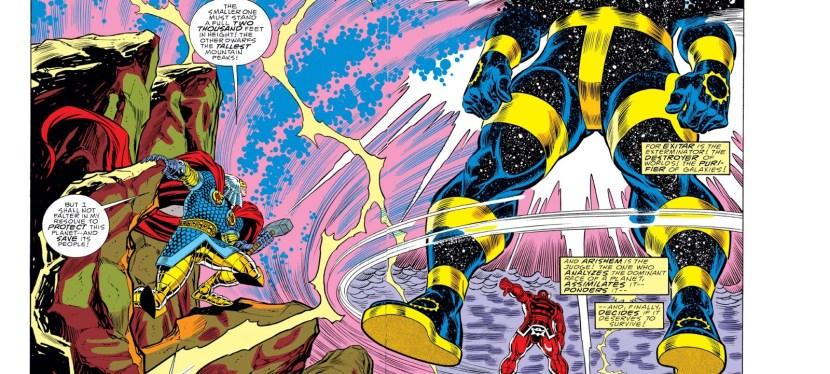 Battles Of The Week: Thor vs Exitar The Celestial (Hero vs Villain)