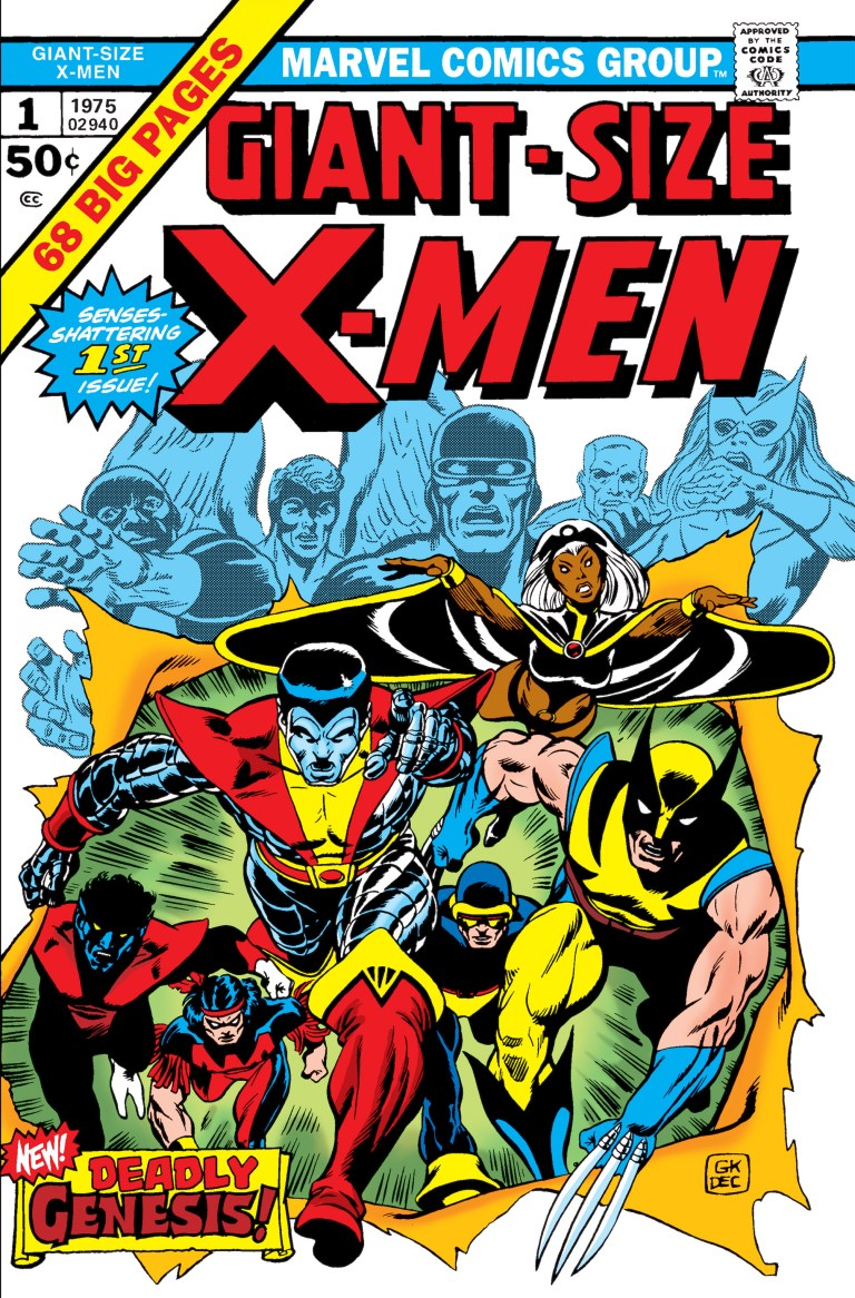 Giant-Size X-Men (1975) #1, marks the first of appearance of Storm in X-Men continuity. Photo/Marvel Comics