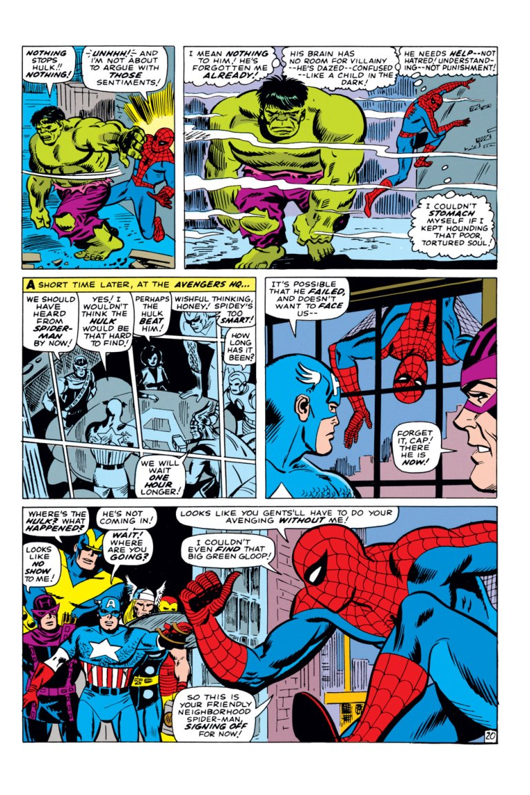 In the end, Spider-Man resigns from the Avengers' membership offer.