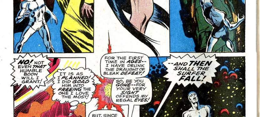 Marvel Day: Stranded On Earth, Silver Surfer Is Reunited With Shalla Bal, Only To Lose Her Again Because Of Mephisto!