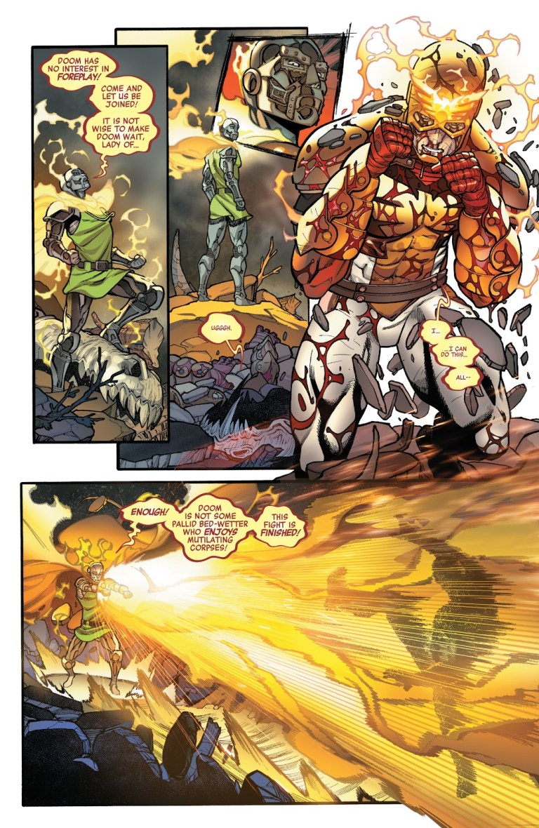In 'Avengers' (2020) #40, Phoenix seeks a new host and select heroes and villains to fight in gladiatorial combat.