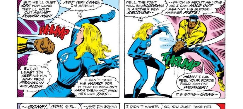 Feat: Luke Cage, 'Fantastic Four' #169