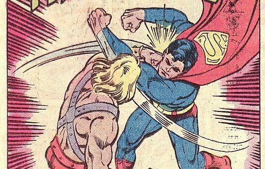 In 'DC Comics Presents' (1982) #47, He-Man battles Superman.
