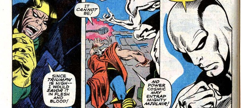 Power Level Explained: Silver Surfer, 'Silver Surfer' #4
