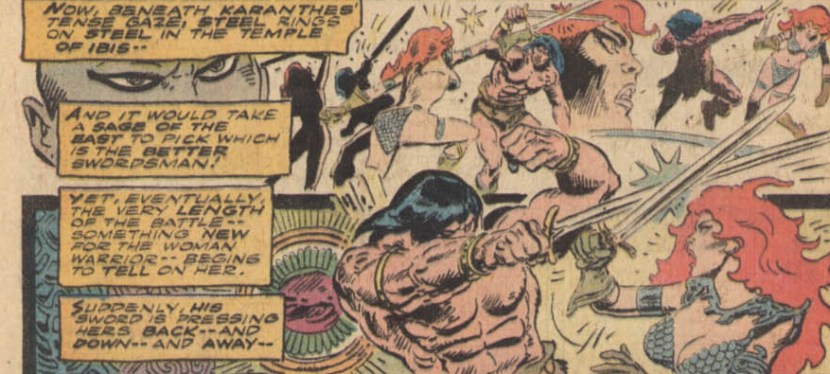 Battles Of The Week: Conan vs Red Sonja (Hero vs Hero)