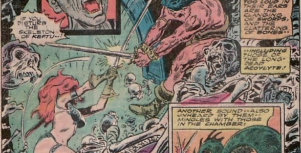 """""""Marvel Feature Presents Red Sonja She Devil With A Sword #7 The Battle Of The Barbarians"""" Review"""