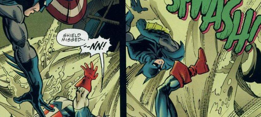 Battles Of The Week: Batman vs Captain America (DC vs Marvel)