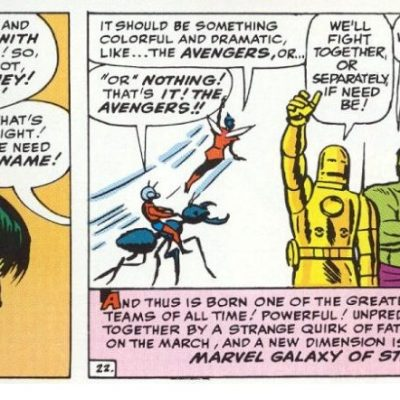 In 'Avengers' (1963) #1, the Avengers form for the first time.