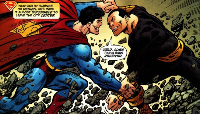 Battle Ranker Competition Round 2: Superman vs Black Adam and Zod