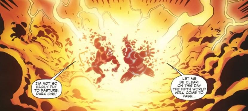 Battles Of The Week: Orion vs Darkseid (Hero vs Villain)