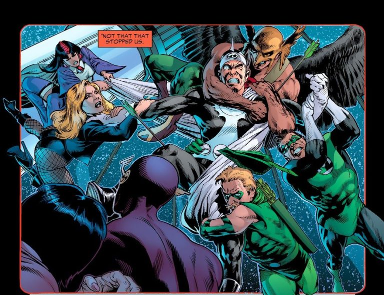 In 'Identity Crisis' (2004) #2, the JLA tackles Doctor Light.