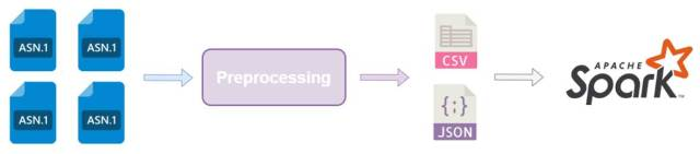 The preprocessing results