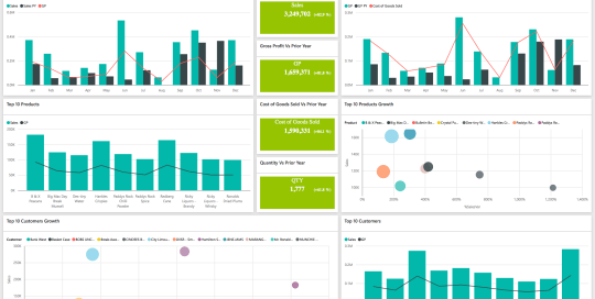 Data Bear Sales Dashboards