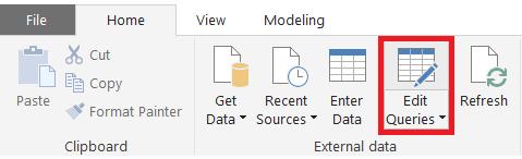 edit queries