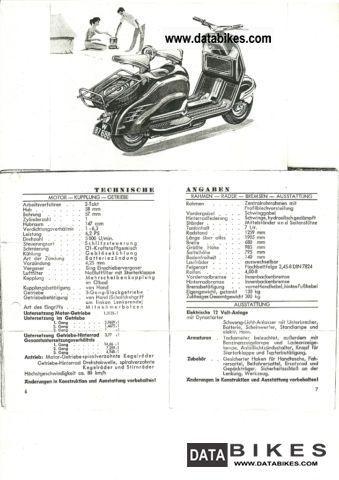1956 NSU Prima scooter