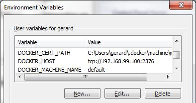 Docker - Installation for Windows 7 (Docker Toolbox)