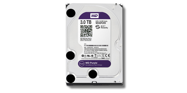 WD Purple - 3 TB